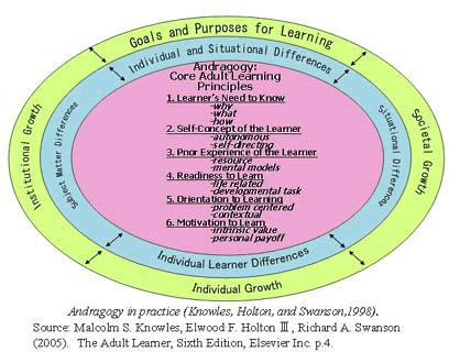 Gallery For > Malcolm Knowles' Theory Of Andragogy